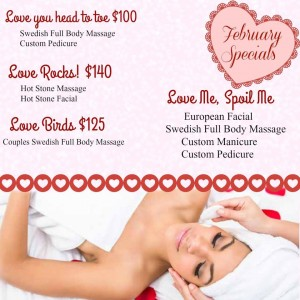 Day Spa Valentines